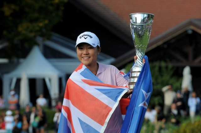 Lydia Ko: youngest ever to win a women's major